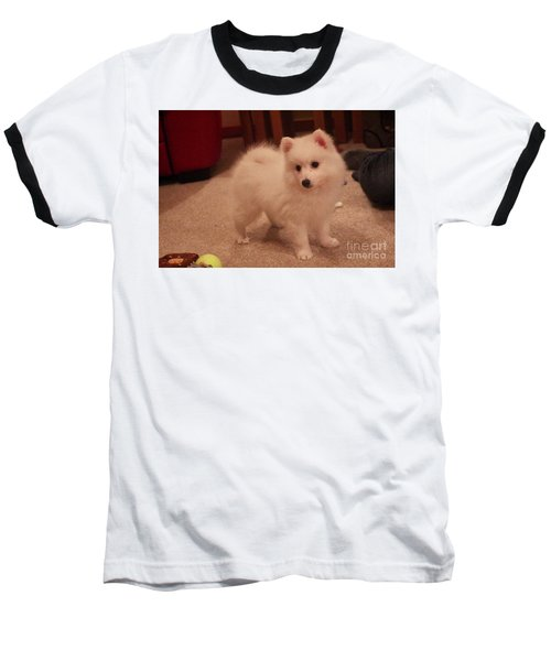 Daisy - Japanese Spitz Baseball T-Shirt