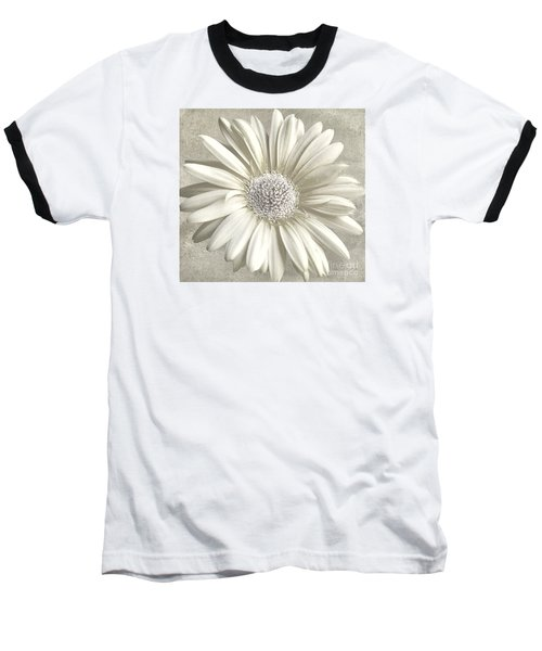 Daisy Baseball T-Shirt by Jim  Hatch