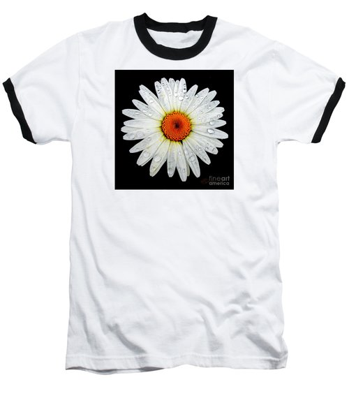 Baseball T-Shirt featuring the photograph Daisy  by Patricia L Davidson