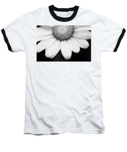 Daisy Smile - Black And White Baseball T-Shirt
