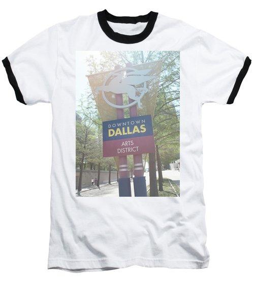 Dallas Arts District Baseball T-Shirt