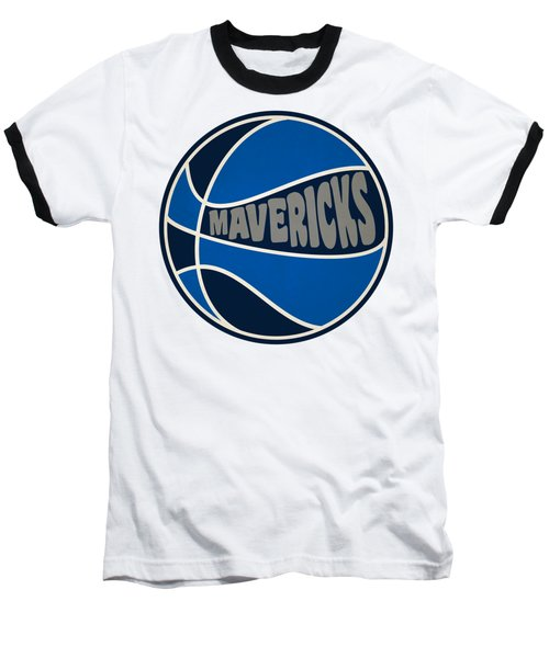 Dallas Mavericks Retro Shirt Baseball T-Shirt