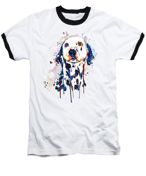 Dalmatian Head Baseball T-Shirt