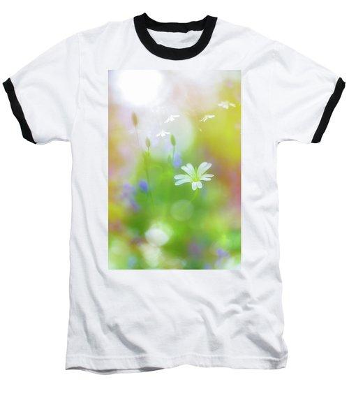 Dance Of The Nature Spirits Baseball T-Shirt