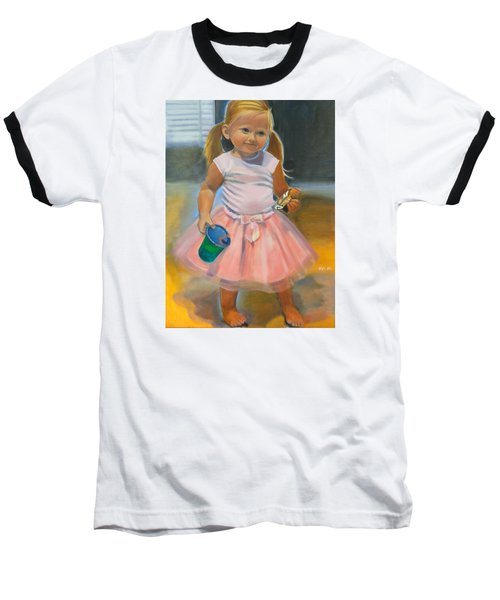 Dancer With Sippy Cup Baseball T-Shirt