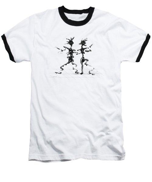 Dancing Couple 2 Baseball T-Shirt