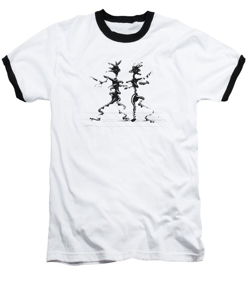 Dancing Couple 2 Baseball T-Shirt