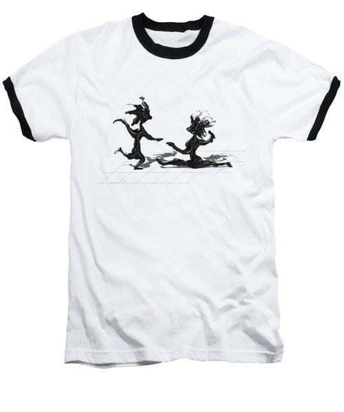 Dancing Couple 9 Baseball T-Shirt