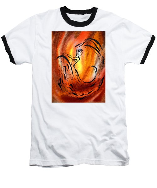 Dancing Fire I Baseball T-Shirt