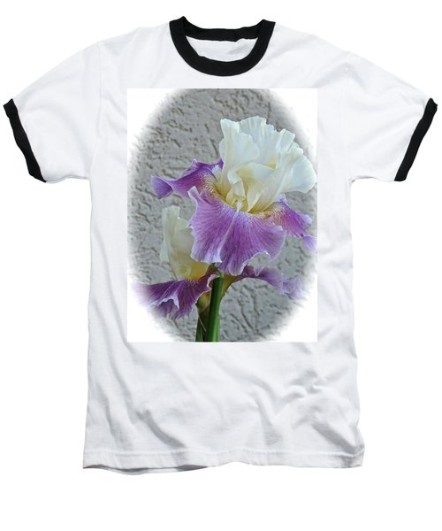 Dancing Iris Baseball T-Shirt