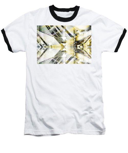 Dancing Lines Baseball T-Shirt