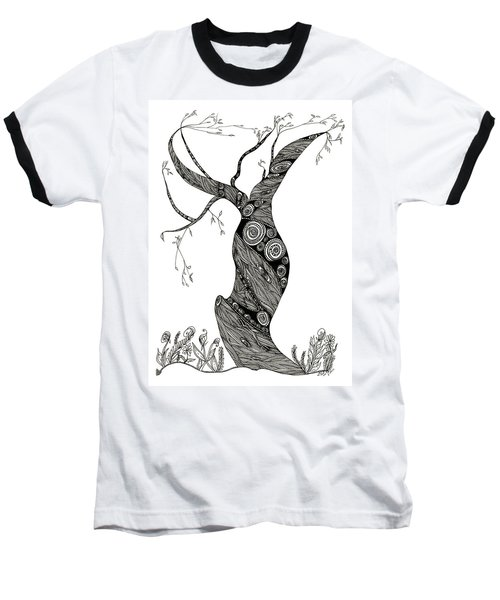 Dancing Tree Baseball T-Shirt