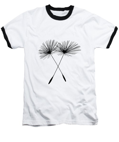 Dandelion Duo  Baseball T-Shirt