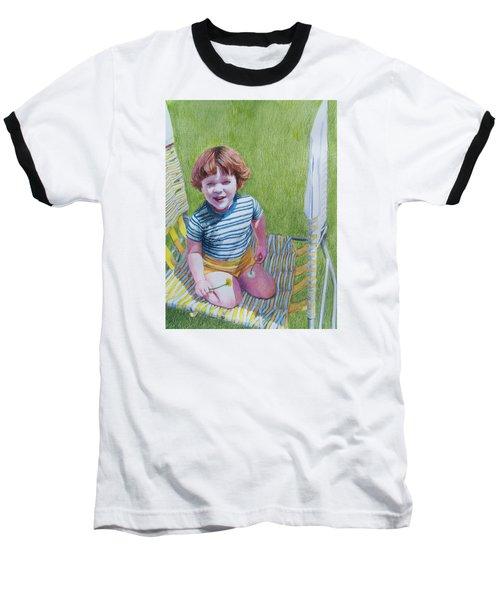 Dandelion Girl Baseball T-Shirt
