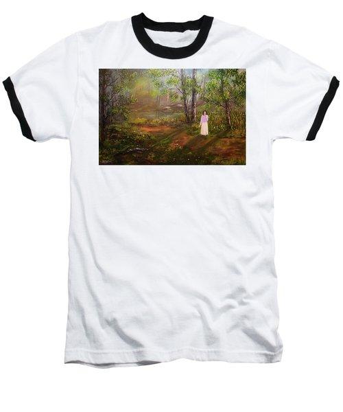 Dandelion In The Breez Baseball T-Shirt