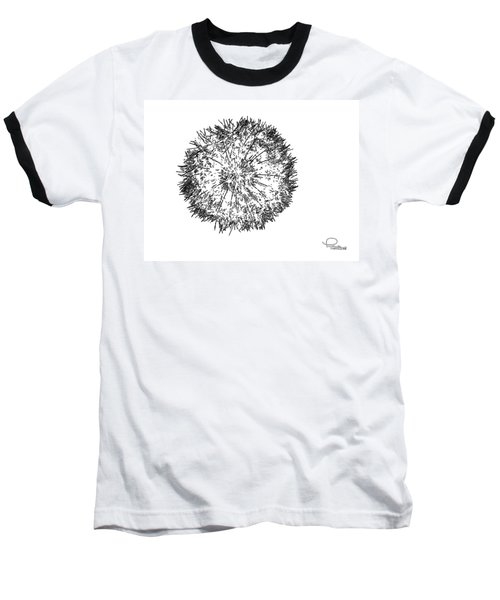 Dandelion Baseball T-Shirt by Ludwig Keck