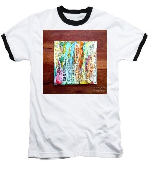 Danxia Water Falls Baseball T-Shirt