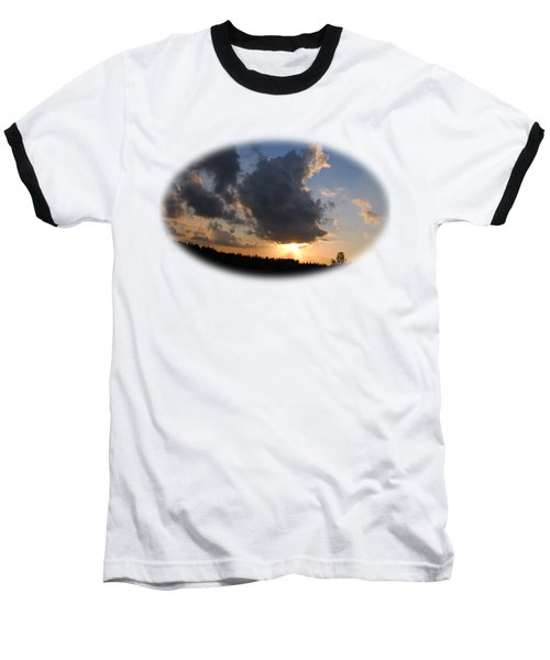 Dark Sunset T-shirt Baseball T-Shirt