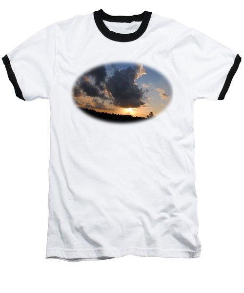 Dark Sunset T-shirt Baseball T-Shirt