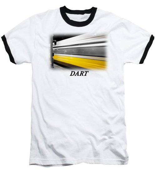 Dart Train T-shirt Baseball T-Shirt by Rospotte Photography