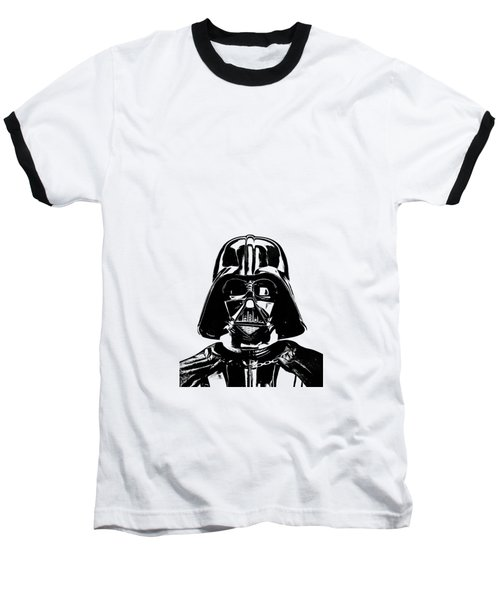 Darth Vader Painting Baseball T-Shirt