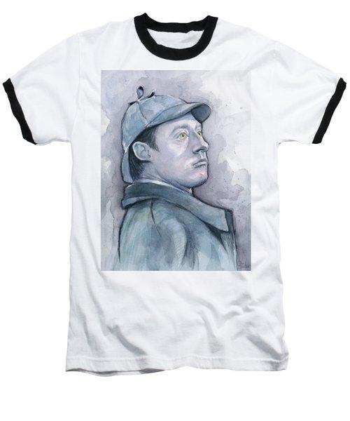 Data As Sherlock Holmes Baseball T-Shirt