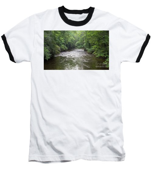 Davidson River In North Carolina Baseball T-Shirt