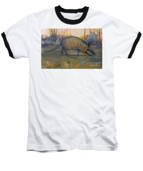 Dawn Run Baseball T-Shirt by Donald Maier