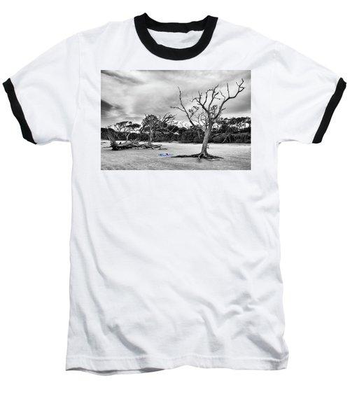 Day At The Beach Baseball T-Shirt
