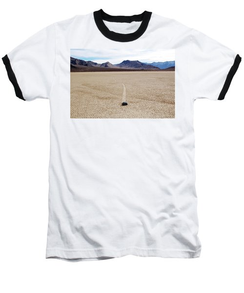 Death Valley Racetrack Baseball T-Shirt