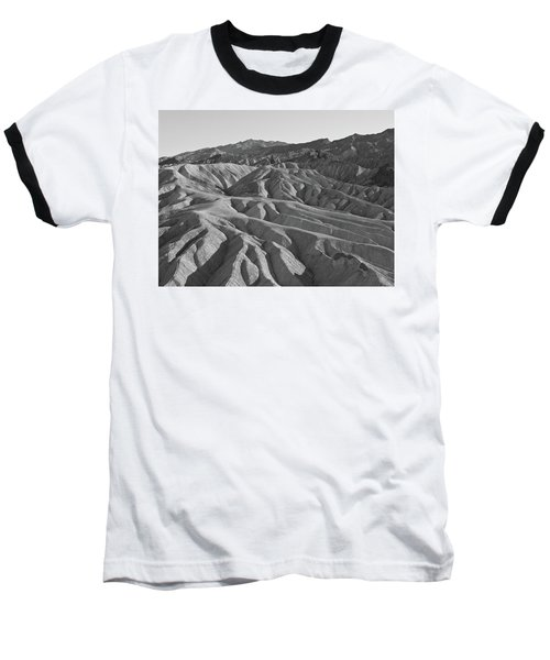 Baseball T-Shirt featuring the photograph Death Valley Rock Formations by Frank DiMarco