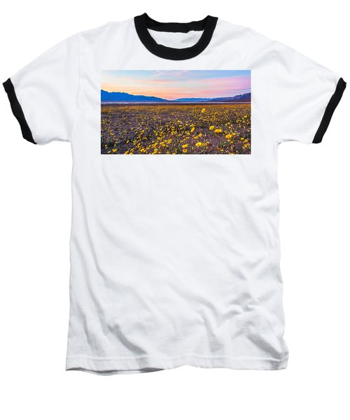 Death Valley Sunset Baseball T-Shirt