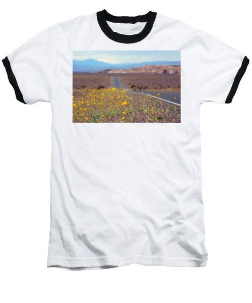 Death Valley Superbloom 101 Baseball T-Shirt
