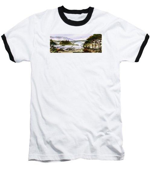 Deception Pass Bridge Baseball T-Shirt