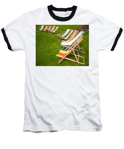 Deck Chairs Baseball T-Shirt