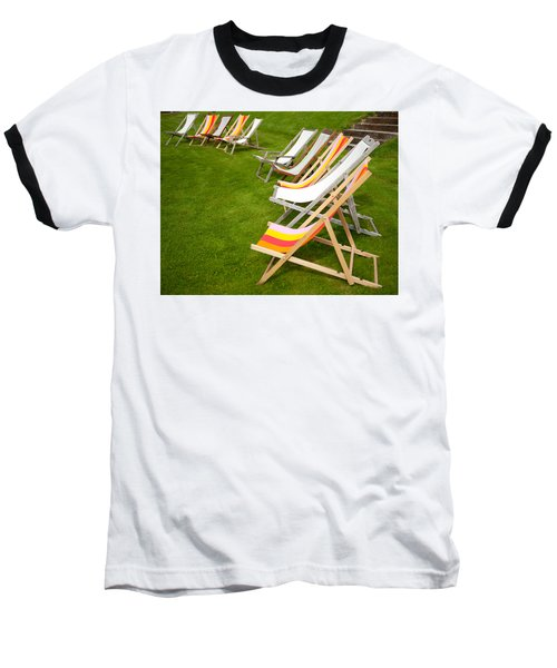 Deck Chairs Baseball T-Shirt