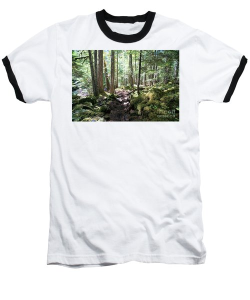 Deep In The Oregon Forest Baseball T-Shirt