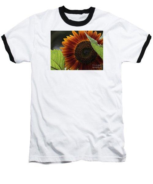 Deep Orange Baseball T-Shirt