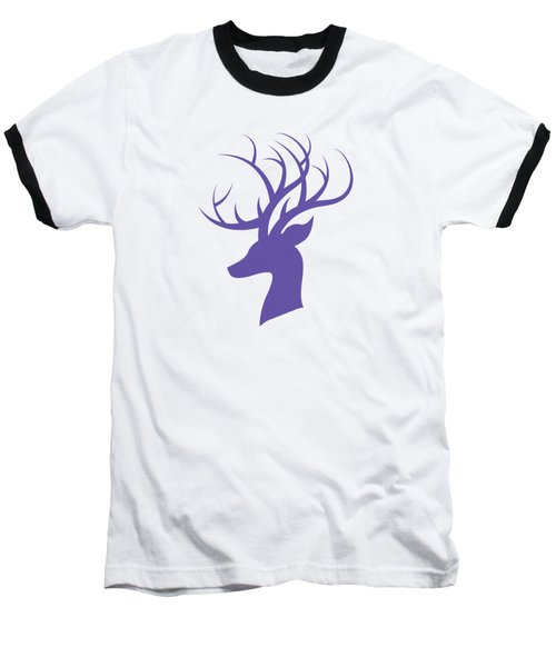 Deer Head Baseball T-Shirt