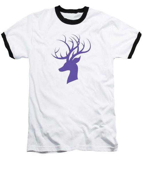 Deer Head Baseball T-Shirt