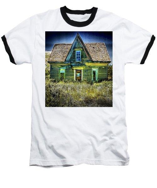 Deer Isle Haunted House Baseball T-Shirt