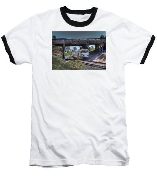 Del Mar Amtrak Baseball T-Shirt