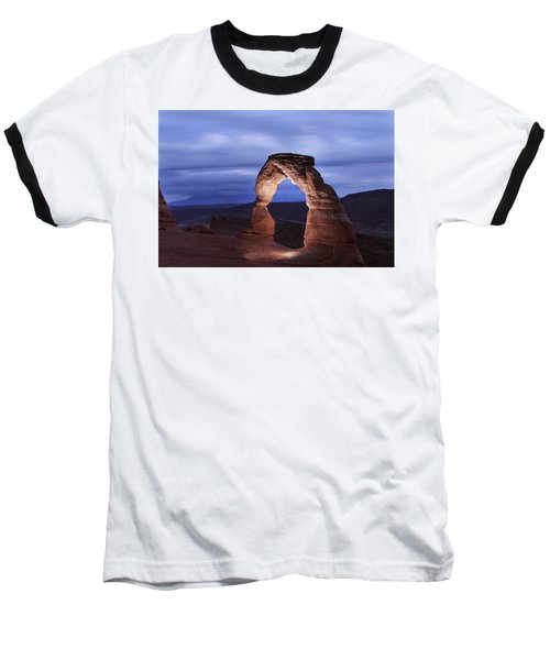 Delicate Arch At Twilight Baseball T-Shirt