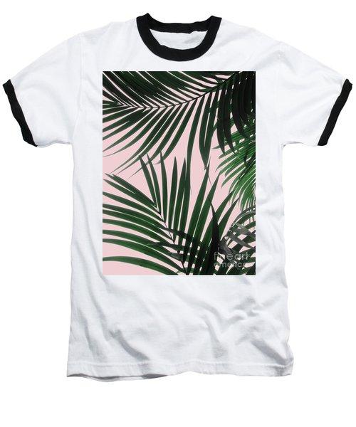 Delicate Jungle Theme Baseball T-Shirt