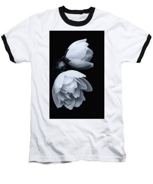 Delicate White Surprise Baseball T-Shirt