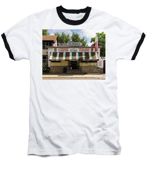 Delmonico's Italian Market Baseball T-Shirt