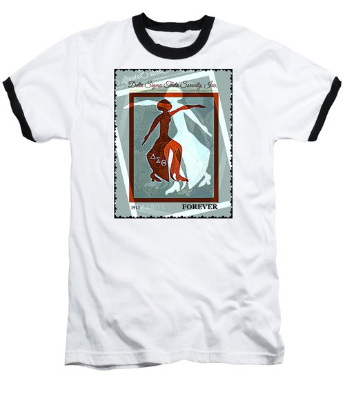 Delta Fortitude Baseball T-Shirt by Lynda Payton