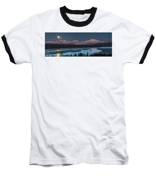 Denali Morning Blue Baseball T-Shirt