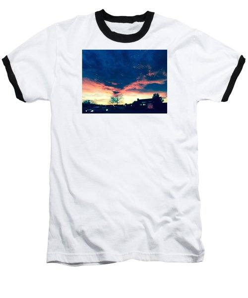 Dense Sunset Baseball T-Shirt