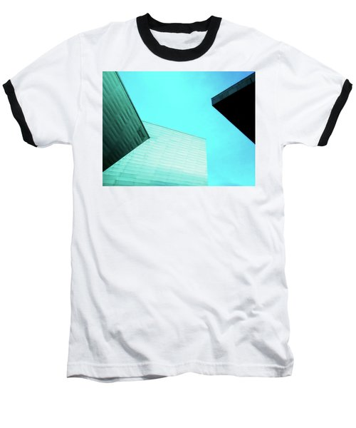 Baseball T-Shirt featuring the photograph Denver Art Museum Hamilton by Marilyn Hunt